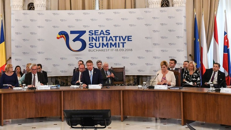 Drei-Meeres-Initiative in Osteuropa: Russland raus, US-Gas rein