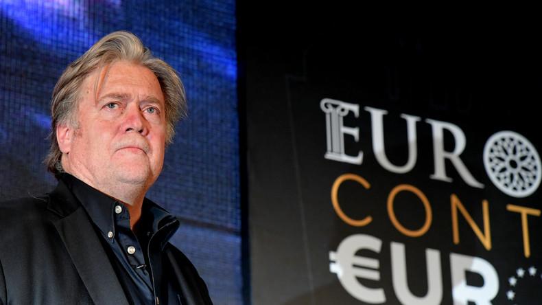 US-Rechtspopulist Steve Bannon will sich auf Europa konzentrieren