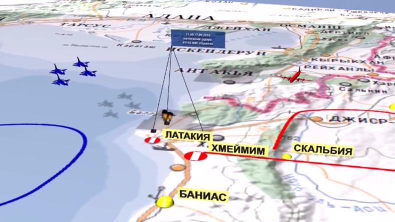 Russisches Verteidigungsministerium: So kam es zum Abschuss des russischen Flugzeugs in Syrien