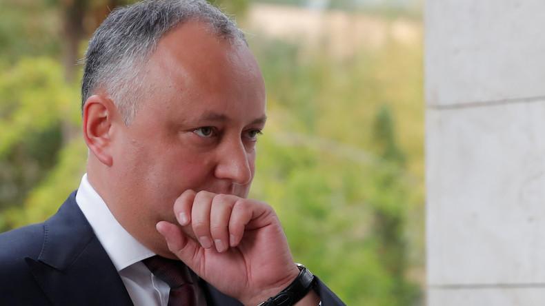 Gericht entzieht Präsident von Moldau vorübergehend Vollmachten