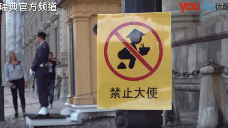 Schwedische Satire-Sendung macht Klo-Witze über Chinesen und erntet diplomatischen Streit mit China