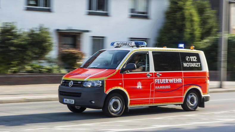Hamburg: Psychisch Kranker zündet drei Behördenmitarbeiter an – ein Toter