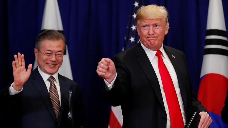 USA und Südkorea unterzeichnen neues Freihandelsabkommen