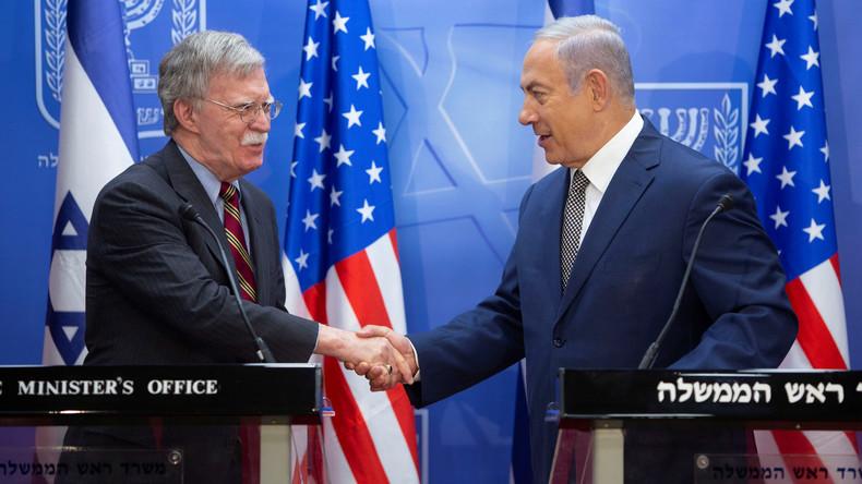 US-Sicherheitsberater Bolton: Iran hat Schuld am Abschuss des russischen Flugzeugs über Syrien