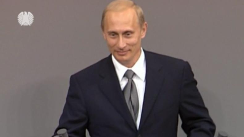 Putins ignorierte Bundestagsrede vor 17 Jahren: Plädoyer für ein gemeinsames europäisches Haus