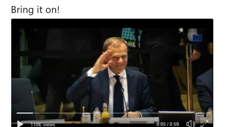 Neuer Propaganda-Clip der EU: Donald Tusk als Actionheld im Dienste der Europäischen Union