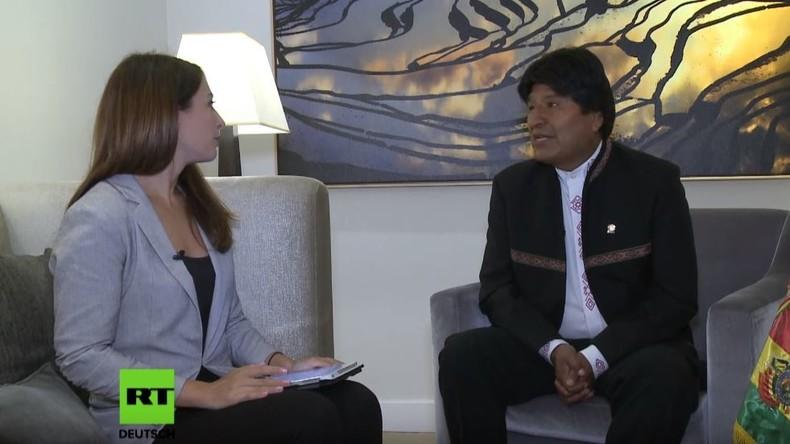 Exklusiv-Interview mit Boliviens Präsident Evo Morales: Neue Umsturzpläne der USA in Lateinamerika