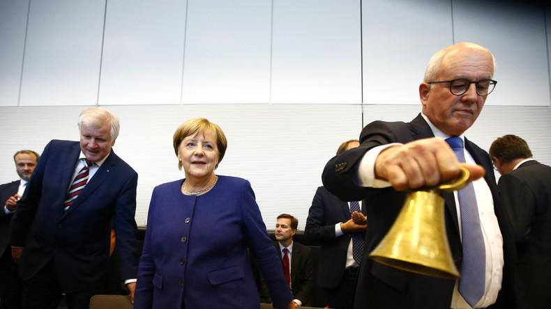Merkel-Dämmerung: Kauder verliert Kampfabstimmung - CDU/CSU wählt Ralph Brinkhaus zum Fraktionschef