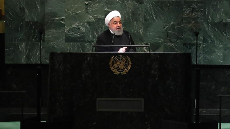 Iranischer Präsident vor den Vereinten Nationen: USA begehen Wirtschaftsterrorismus