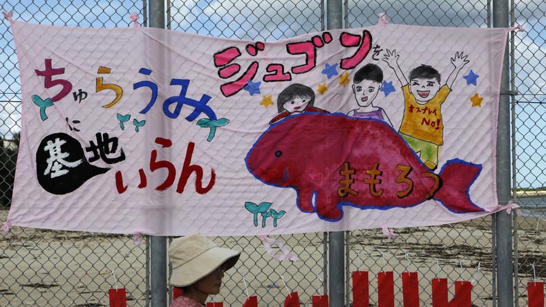 Okinawa: Bedrohte Spezies verhindern wohl Baupläne für neuen US-Stützpunkt in Japan