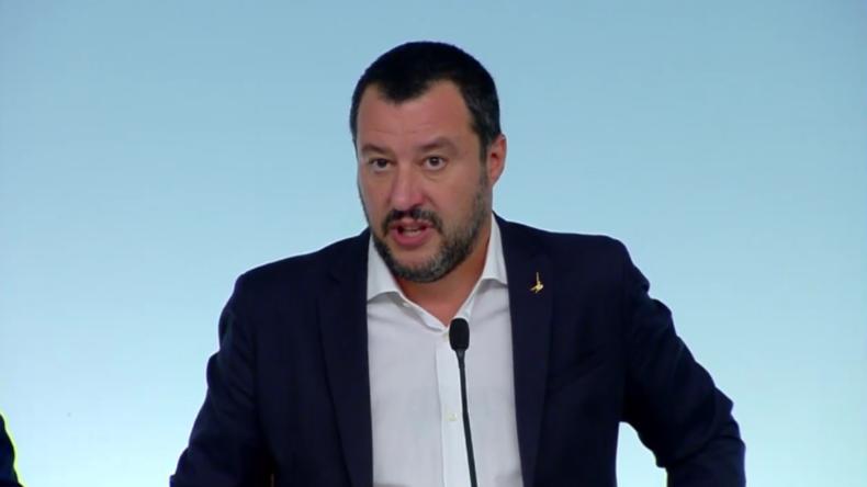 Salvinis Migrationspolitik: Wenn ich dir die Tür öffne und du kriminell wirst - dann musst du gehen