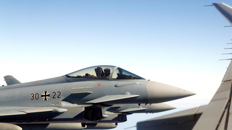 """NATO: Deutsche Kampfjets fangen russische Überschallbomber im """"NATO-Überwachungsgebiet"""" ab"""