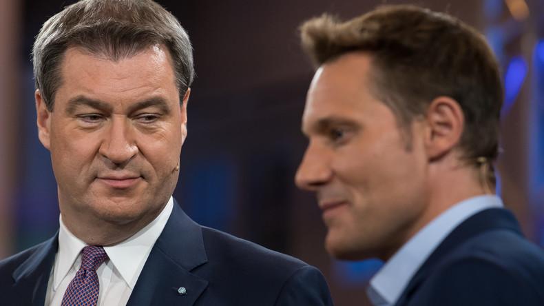 Bayern-Wahl: Söder liefert sich TV-Schlacht mit Grünen-Chef