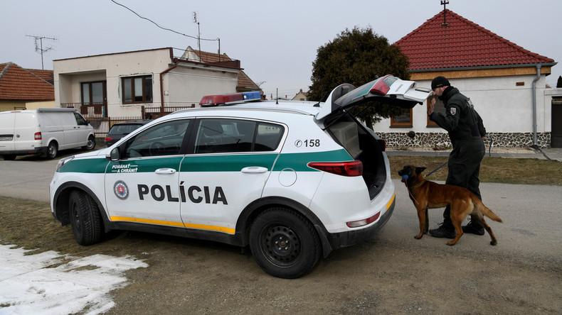 Ermittlungen zum Journalistenmord: Slowakische Polizei verhaftet Tatverdächtige