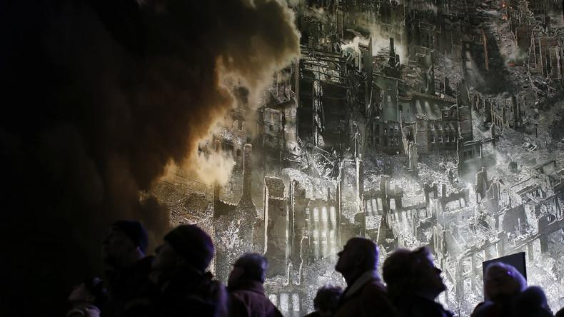 Studie: Bomben der Alliierten im 2. Weltkrieg sandten Schockwellen bis in die Ionosphäre