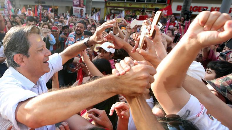 Brasilien vor der Wahl: Kopf-an-Kopf-Rennen zwischen linkem und rechtem Kandidaten