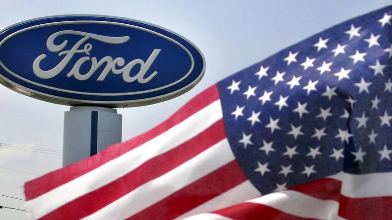 Trumps Handelskriege: Ford meldet eine Milliarde US-Dollar an Gewinnverlusten