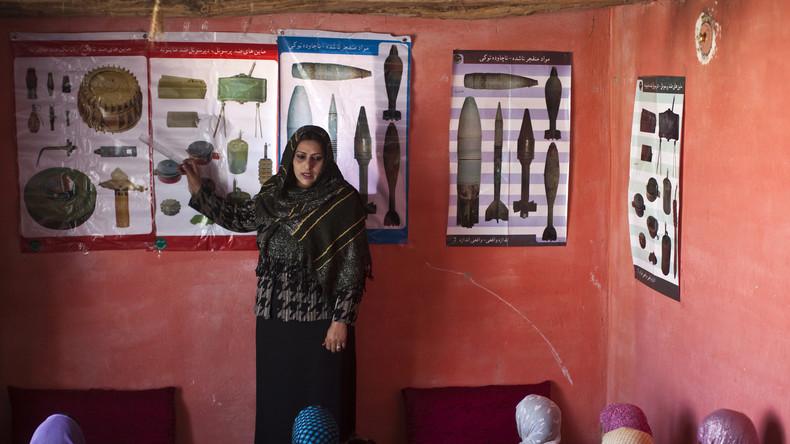 Afghanistan: Jeden Monat bis zu 200 Opfer durch Minen