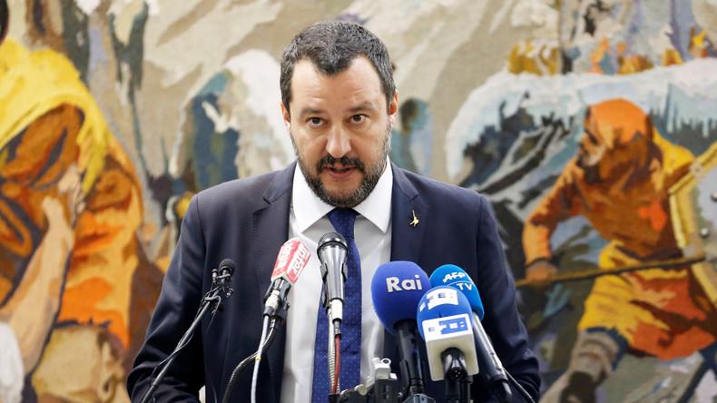 Salvini: Kein Flüchtlingsabkommen, solange Deutschland sich taub stellt