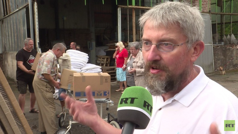 """Freie Presse verweigert Berichterstattung über Spendenaktion: """"Wenn RT auch da ist, dann nicht"""""""