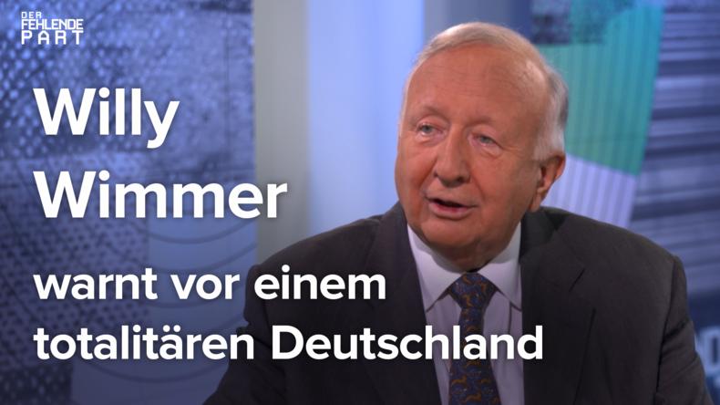 Willy Wimmer warnt vor einem totalitären Deutschland [DFP 01]