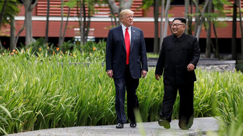 Trump und Kim sind