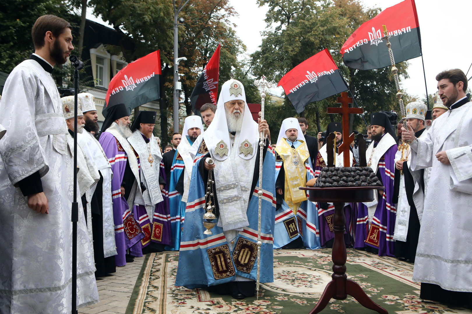 Orthodoxie ist kurz vor Spaltung: Patriarch Bartholomeos will Kiew Autokephalie gewähren
