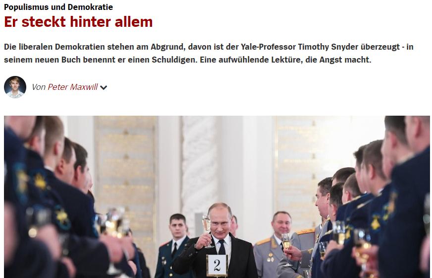 """Spiegel Online trägt wieder Aluhut: """"Er steckt hinter allem"""""""