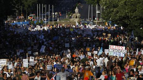 Massenproteste der