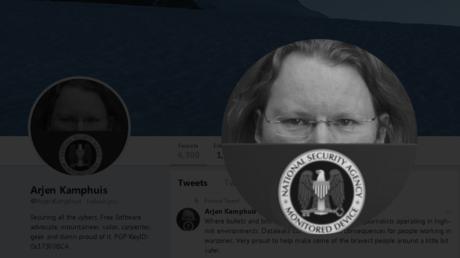 Screenshot des Twitter-Profils von Arjen Kamphuis