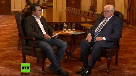 Der neue russische Botschafter in Berlin, Sergej J. Netschajew, stand RT Deutsch Rede und Antwort.