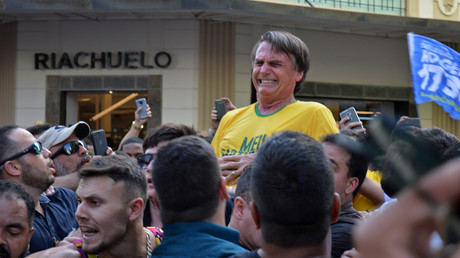 Brasilianischer Präsidentschaftskandidat bei Wahlkampfveranstaltung mit Messer attackiert