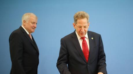 Soll Bericht erstatten: Verfassungsschutzchef Maaßen mit Innenminister Seehofer, September 2018