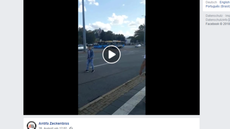 Menschenjagd in Chemnitz? Umstrittenes Facebook-Video der