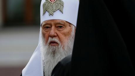 Der Oberhaupt des selbsternannten Kiewer Patriarchats Filaret
