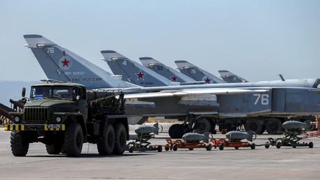 Symbolbild: Russische Militärmaschinen in Syrien, 18. Juni 2016.