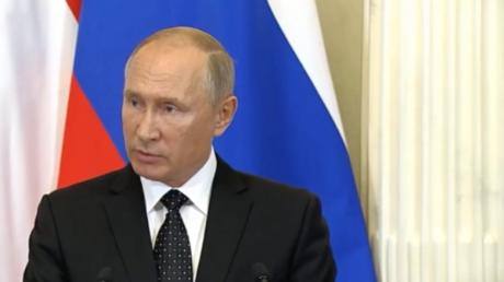 Putin zu Abschuss von Flugzeug in Syrien: Unsere Maßnahmen werden für alle sehr spürbar sein