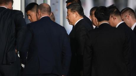 Der chinesische Präsident Xi Jinping während des Forums in Wladiwostok.