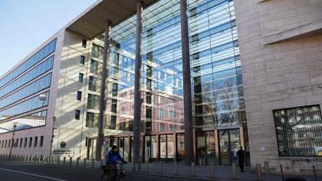 Das Gebäude des Bundesaußenministeriums in Berlin.