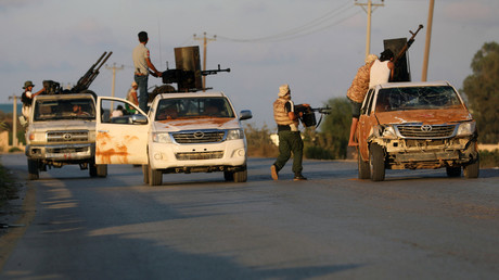 Milizkämpfe in Tripolis, Libyen, am 22. September 2018.
