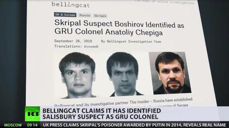 Bellingcat will wahre Identität von Skripal-Attentäter herausgefunden haben (Video)