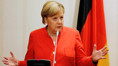 Bundeskanzlerin und zugleich CDU-Chefin Angela Merkel schließt eine Koalition mit der AfD in Sachsen kategorisch aus.