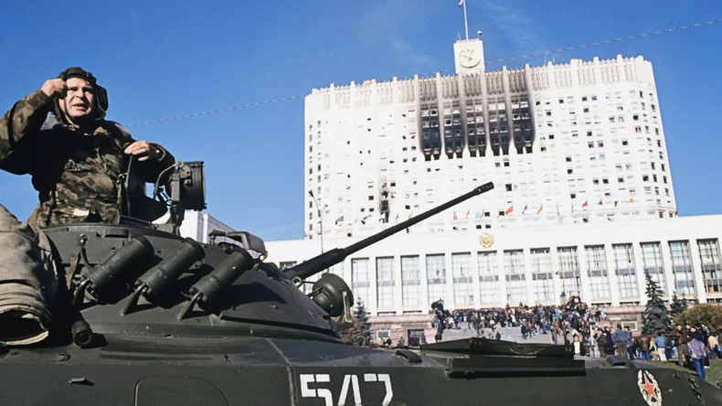"""Zum 25. Jahrestag der russischen Verfassungskrise: """"Schwarzer Oktober '93"""""""