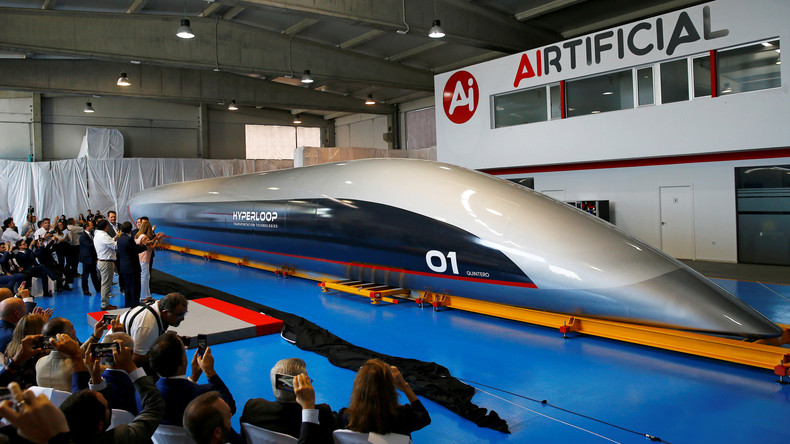 Schneller als ein Flugzeug: Erste Passagierkapsel für High-Speed-Transportsystem Hyperloop gebaut