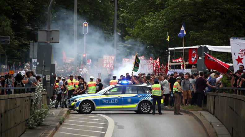 LIVE: Demonstration in München gegen Polizeiaufgabengesetz