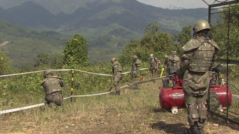 Südkorea: Nord- und Südkorea beginnen mit der Beseitigung von Landminen entlang der Grenze