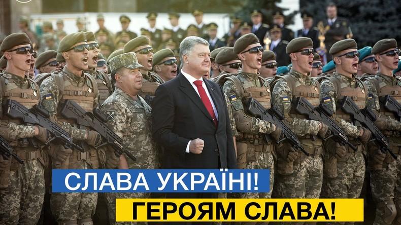 """""""Sieg Heil"""" als Gruß bei einem modernen Militär? Ukraine führt Äquivalent jetzt offiziell ein"""