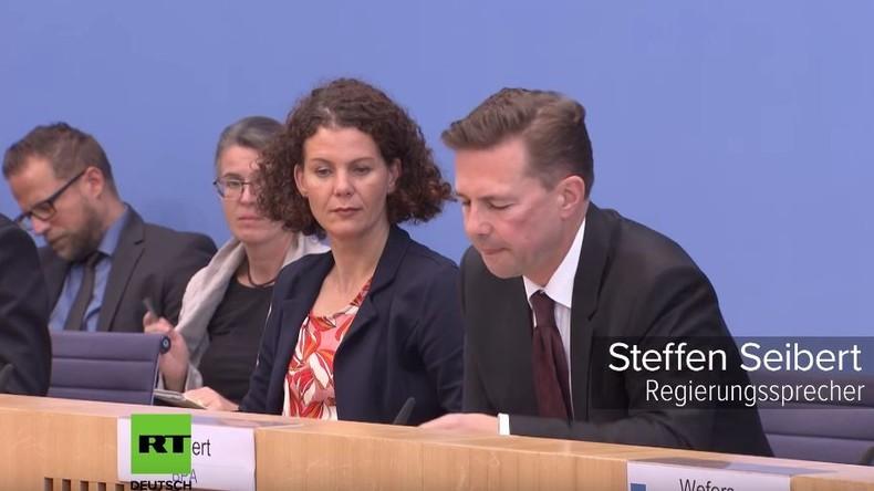 Merkel-Sprecher und politische Gefangene in der EU: Abgründe der Doppelmoral