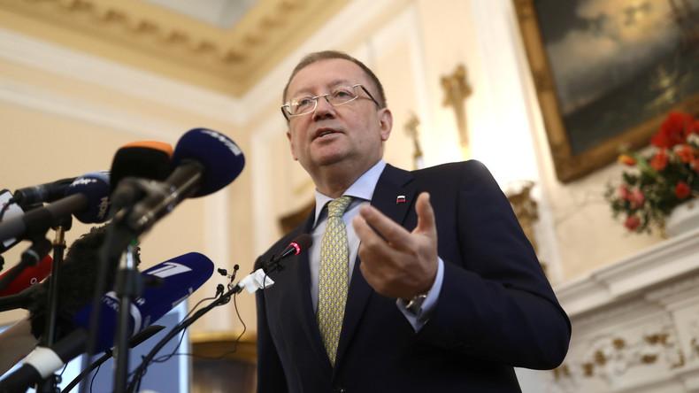 Russischer Botschafter in Großbritannien spricht über vermeintlichen Cyberangriff auf OPCW