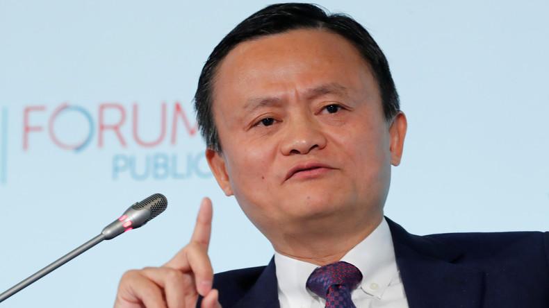 """Jack Ma: """"Wenn der Handel aufhört, beginnt manchmal der Krieg"""""""